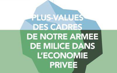 Conférence plus values des cadres militaire dans l'économie privée